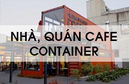 Nhà, quán cà phê container